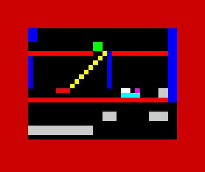 - JODI, Jet Set Willy Variations, 2002, ZX Spectrum emulator