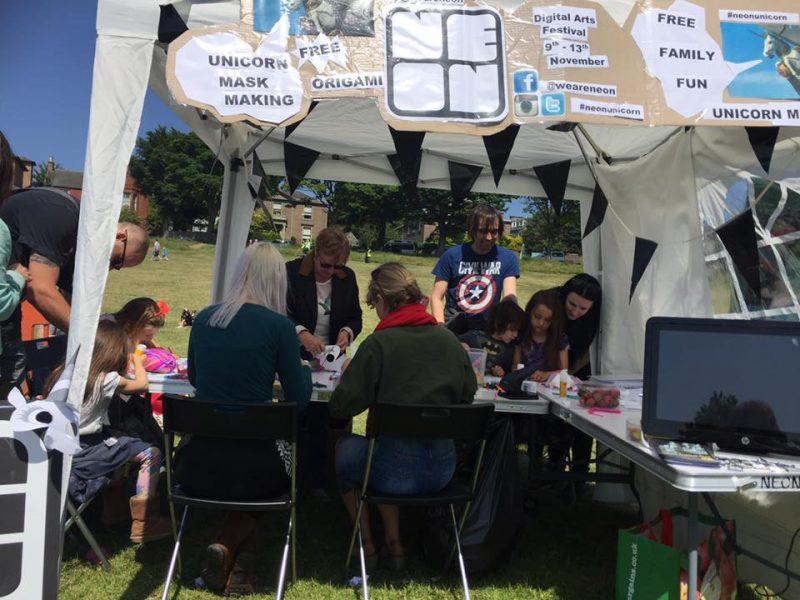 May 2016 volunteers helping with workshop