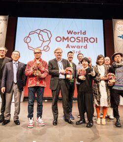 Ei Wada and Usaginingen win World of OMOSIROI Award
