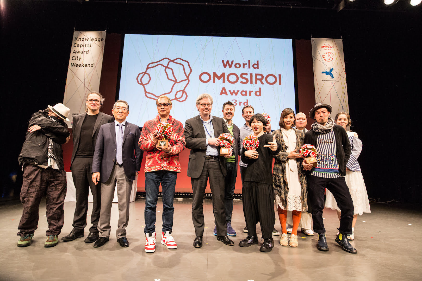 Ei Wada and Usaginingen win World of OMOSIROI Award