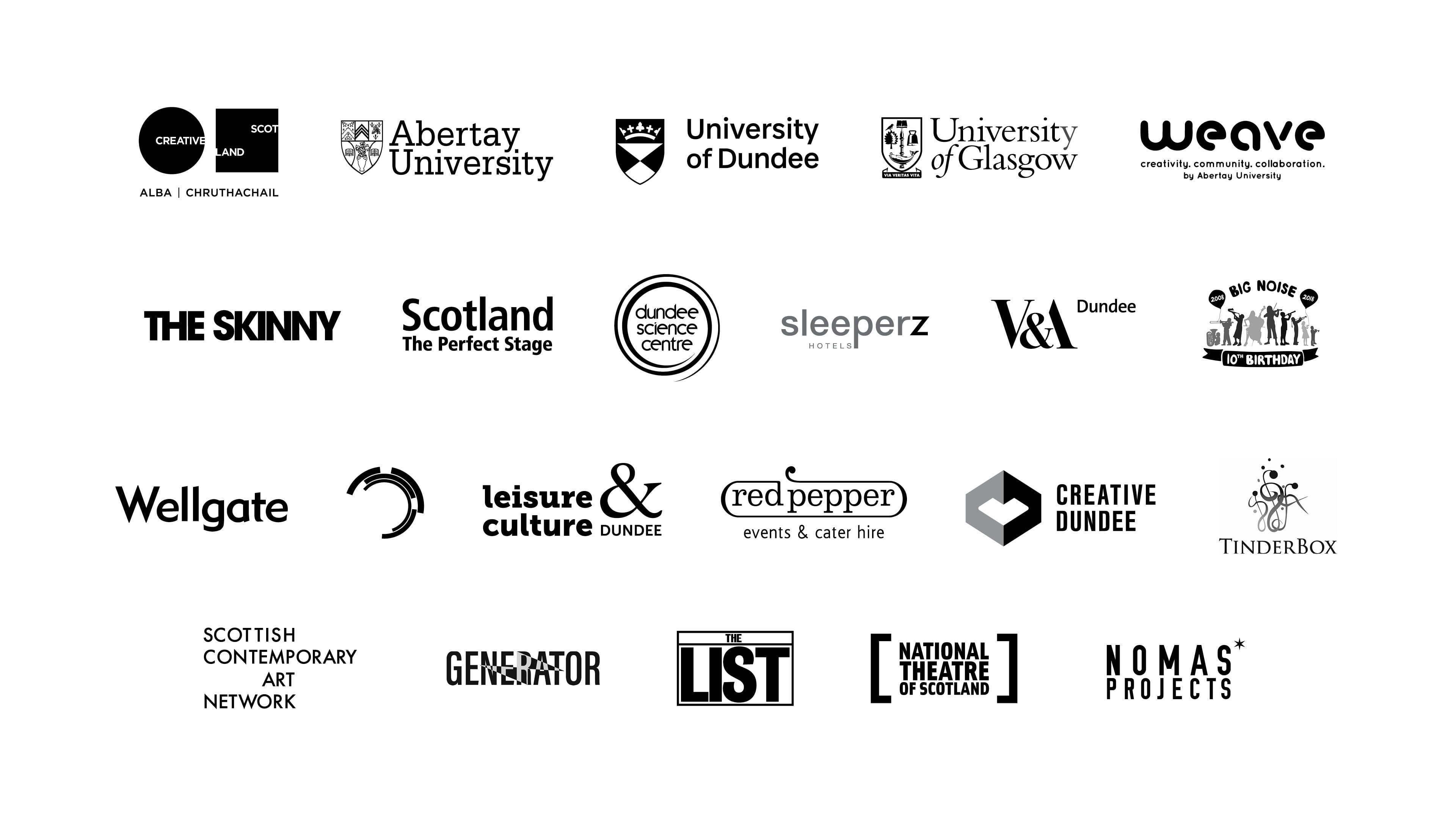 Supporter logos