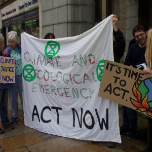 Extinction Rebellion Protesters