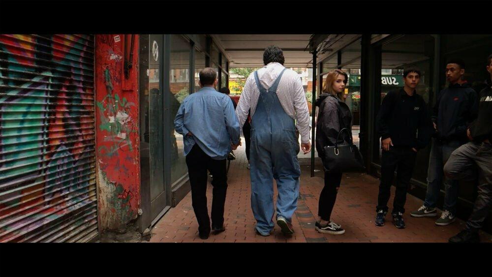 Film still from Walking Holding by Cade & MacAskill