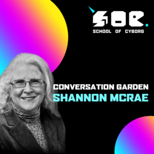 Flyer for the event contains an image of Shannon McRae